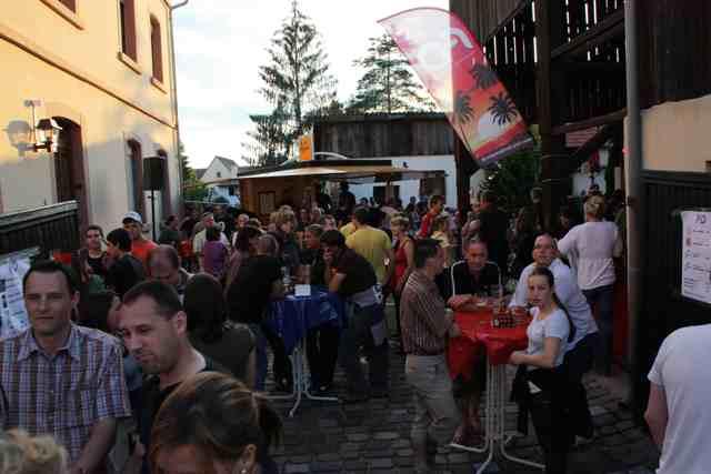 Heddesheim: Bilderstrecke vom Straßenfest am Abend