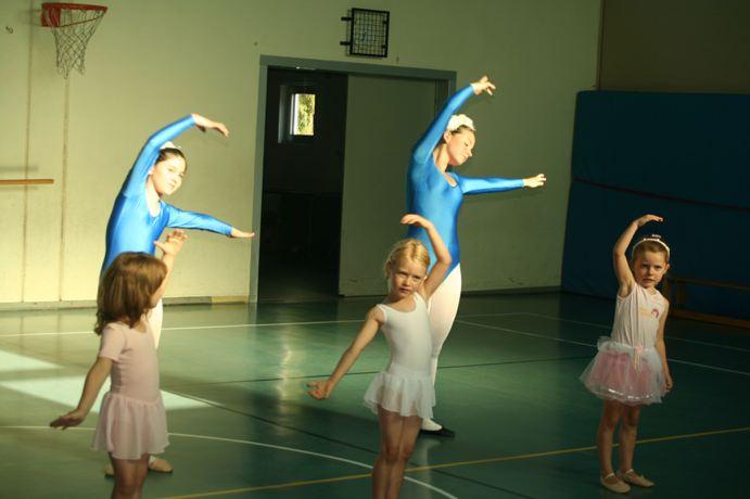 Von Schwänen und Fischen – Ballett Exercisen