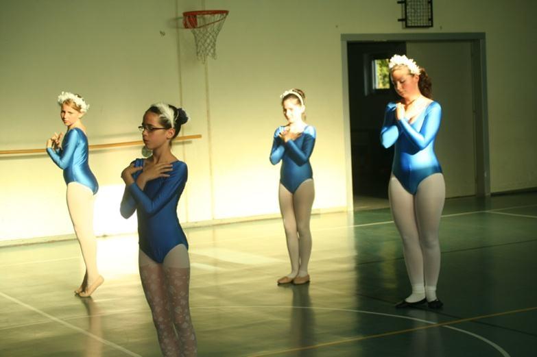 Ballettgruppen der VHS zeigten Exercisen