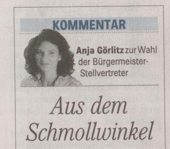Respekt, Frau Görlitz!