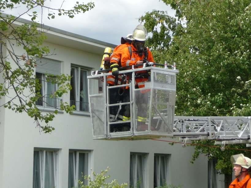 """Feuerwehreinsatz """"Haus am See"""" II"""