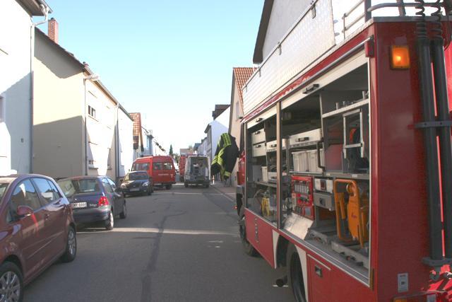 Einsatz in der Lissenstraße