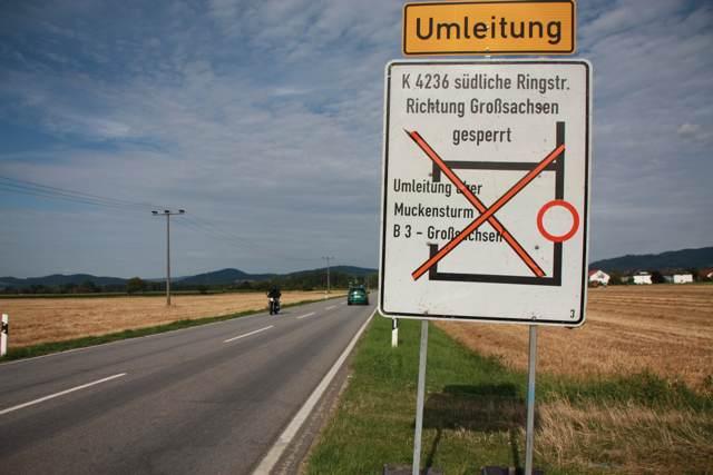 Fahrbahnsanierung an der Kreisstraße 4236