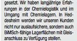 Pfenning plant ein 40.000 Quadratmeter großes Chemielager in Heddesheim