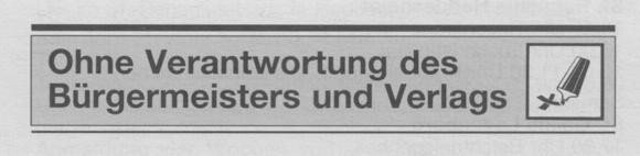Nussbaum-Medien nimmt Korrekturen im Mitteilungsblatt vor