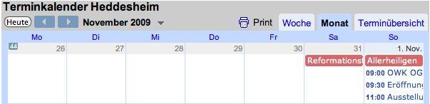 Neuer Service: Ãœbersichtlicher Terminkalender