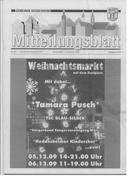 """Weihnachtsmarkt """"…uvm"""""""