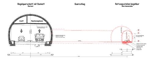 Saukopftunnel wird erst kurz vor Weihnachten geöffnet