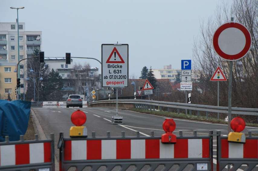 Vollsperrung der A659 am kommenden Wochenende