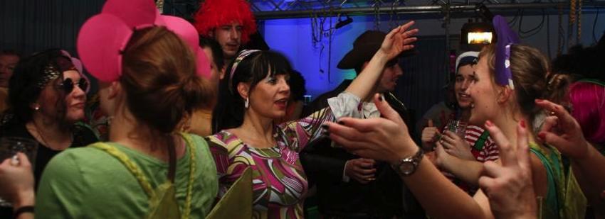 Kappenabend 2010: Nach der Party ist vor der Party – Fischerdisko im Pflug