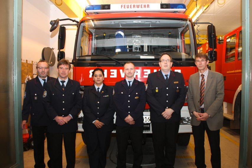 Feuerwehr: Vier Beförderungen