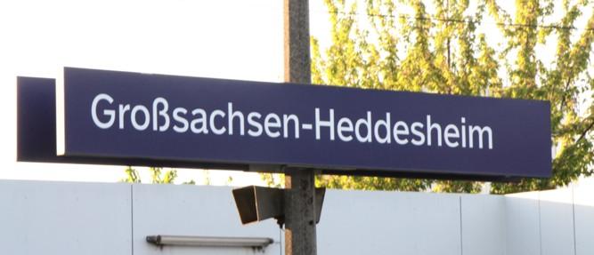 Bahnhof wird umbenannt in Heddesheim/Hirschberg