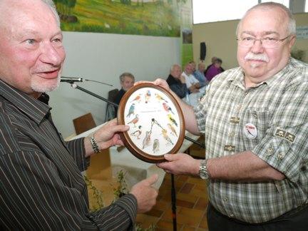 Kurt Klemm erhält VDW-Naturschutzpreis 2010