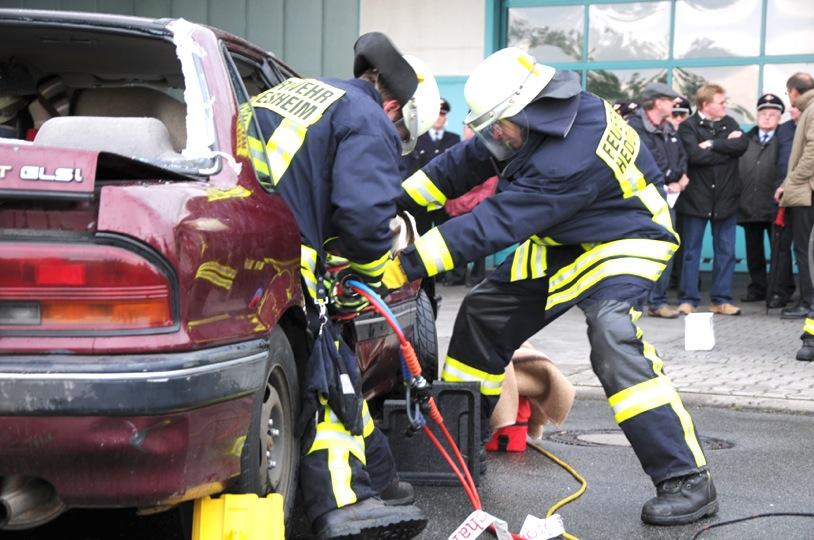 Fotostrecke: Jahreshauptübung der Feuerwehr