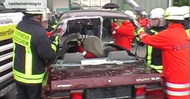 Video: Jahreshauptübung der Freiwilligen Feuerwehr Heddesheim