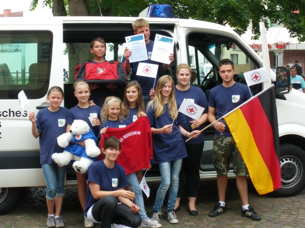 JRK Heddesheim qualifiziert sich für Bundeswettbewerb