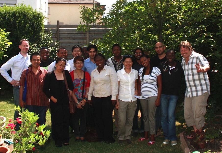 Journalisten aus Afrika und Asien beim heddesheimblog