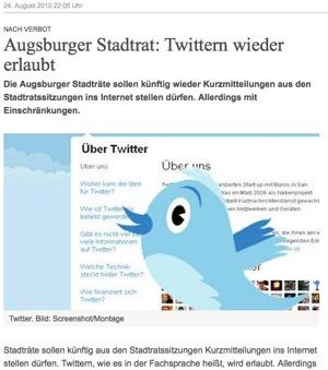 Dokumentation: Streit um Twitter & co – oder die Angst vor der Transparenz und Meinungsfreiheit