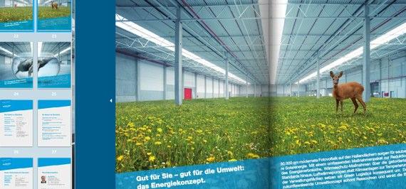 """""""Pfenning"""" wirbt mit Online-Prospekt und Rehen auf Kräuterwiesen"""