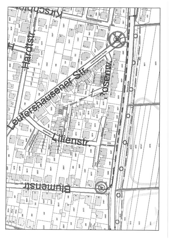 Verkehrsbeeinträchtigungen wegen Sanierungsarbeiten Leutershausener Straße/Hardstraße
