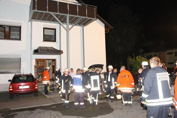 Feuerwehr löscht Verteilerbrand in der Lilienstraße
