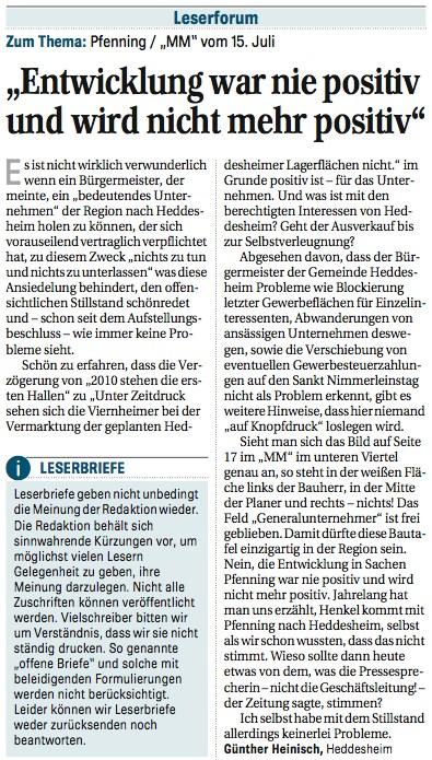 """Gläserner Gemeinderat: Grünes """"Schaumschlagen""""? Wer Verantwortung will, muss sie auch übernehmen"""