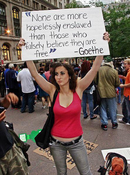 """Geprothmannt: """"Occupy"""" ist kein Schlachtruf, sondern ein Bekenntnis"""