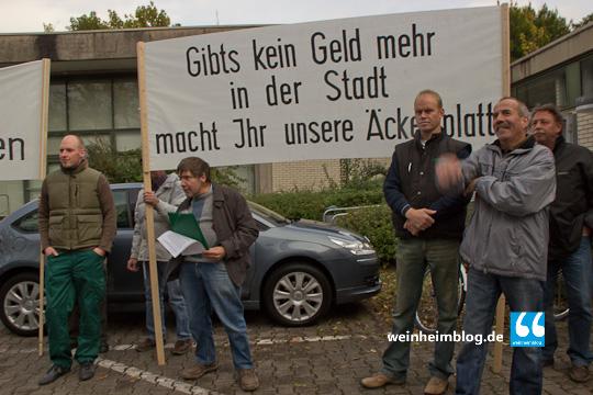 """""""Große Verneigung vor diesen Weinheimer Landwirten"""""""