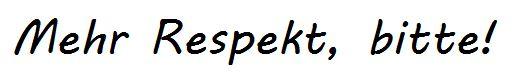 Leserbrief: Herr Kessler, verzichten Sie auf den Brunnen und zollen Sie den Menschen Respekt