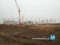 Neues von der Baustelle: Folge 8 – ein erstes Gerippe