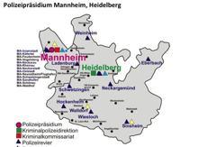 Mannheim bleibt Präsidium, Heidelberg bekommt Kriminaldirektion