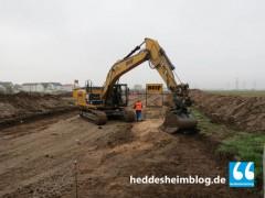 """Erschließungsarbeiten Baugebiet """"Mitten im Feld"""""""