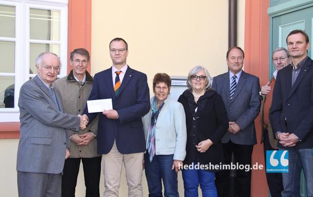 Der Rotary Club Schriesheim-Lobdengau unterstützt die Außenstelle der Hospizhilfe Weinheim-Neckar-Bergstraße.