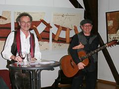 Lyrisch-musikalischer Abend im Kunstverein